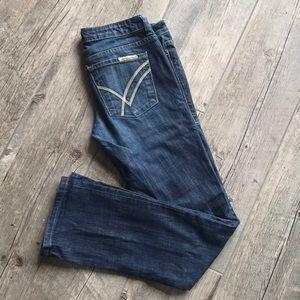 William Rast Sadie Straight Leg Jean